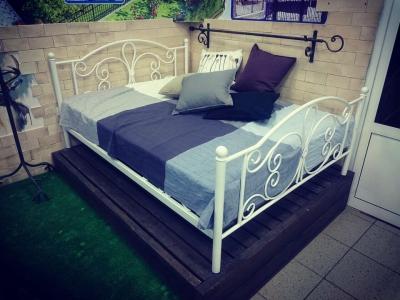 Кованая кровать Венеция 2