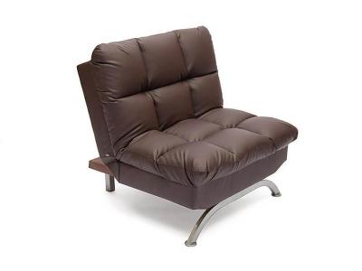 Кресло Amerillo Хром - Коричневый