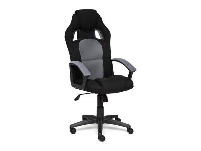 Кресло Driver иск кожа - ткань Чёрный - Серый
