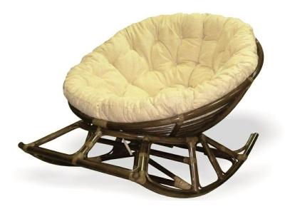Кресло-качалка Papasan 23-03 браун