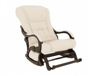 Кресло-качалка Родос глайдер экокожа крем