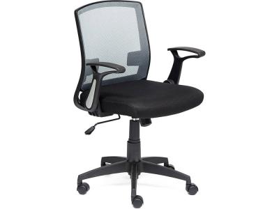 Кресло Scout ткань Чёрный + Серый