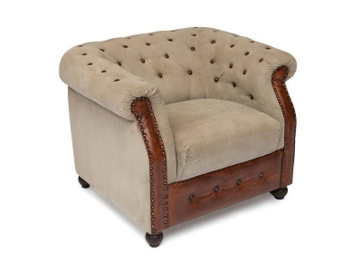 Кресло Secret De Maison Chelsey Коричневый Винтаж (mod. M-6696)