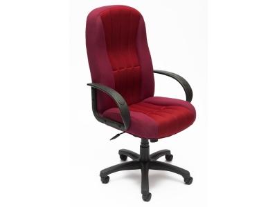 Кресло СH833 ткань + сетка Бордо + Бордо (2604/13)