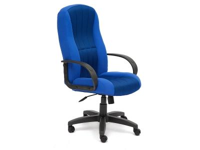 Кресло СH833 ткань + сетка Синий + Синий (2601/10)