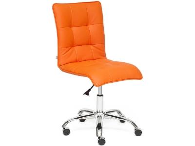 Кресло Zero кож.зам Оранжевый (14-43)