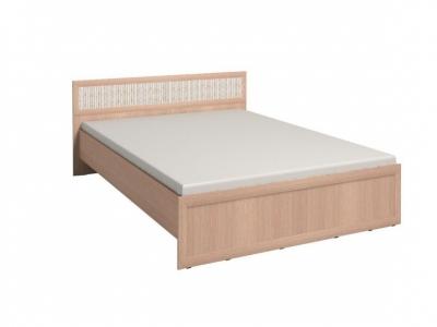 Кровать 3 с ортопедическим основанием Милана Дуб отбеленый 1370х2050х845