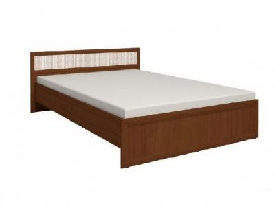 Кровать 3 с ортопедическим основанием Милана орех 1370х2050х845