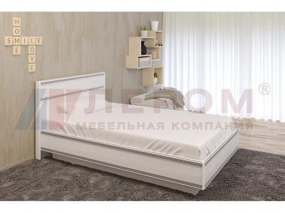 Кровать c подъемным механизмом КР-1001 1200х2000 Снежный Ясень
