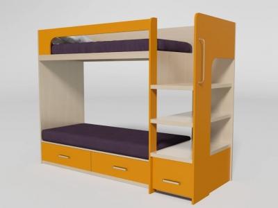 Кровать двухъярусная №8