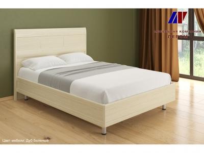 Кровать КР-2802 1400х2000 Дуб Беленый