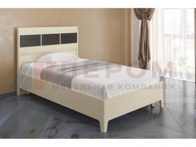 Кровать КР-2862 1400х2000 Дуб Беленый - комбинированный