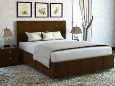 Кровать Liliana коричневая