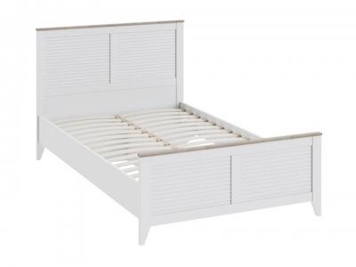 Кровать Ривьера СМ 241.13.21 Дуб Бонифацио, Белый