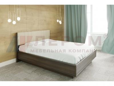 Кровать с мягким изголовьем КР-1014 1800х2000 Акация Молдау