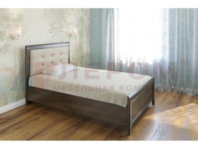 Кровать с мягким изголовьем КР-1032 1400х2000 Акация Молдау