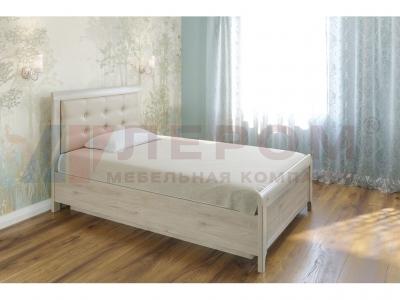 Кровать с мягким изголовьем КР-1032 1400х2000 Гикори Джексон светлый
