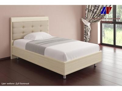 Кровать с ортопедическим основанием КР-2051 1200х2000 Дуб Беленый