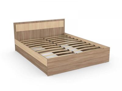 Кровать София 160 шимо ясень с основанием