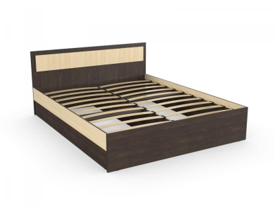Кровать София 160 венге дуб с основанием