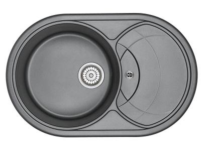 Кухонная мойка Granula 7801 Шварц