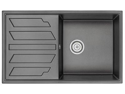Кухонная мойка Granula 8601 Черный