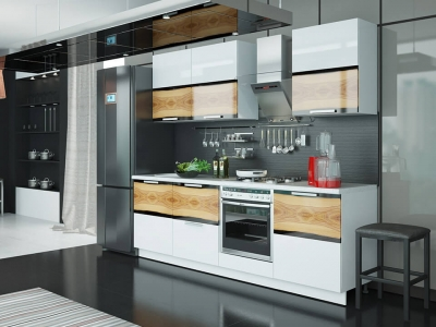 Кухонный гарнитур Фэнтези Вуд 2,4м