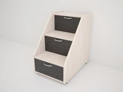 Лесенка для кровати Матрешка 695х485х695