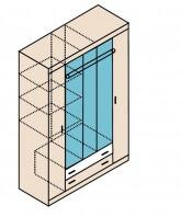 Ника Н13 Шкаф для одежды 1502х579х2221