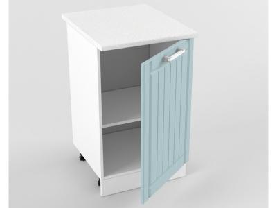 Нижний шкаф Н 500 1 дверь 850х500х600 Прованс Роялвуд голубой