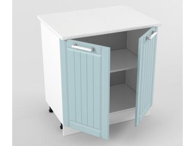 Нижний шкаф Н 800 850х800х600 Прованс Роялвуд голубой