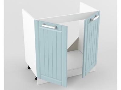 Нижний шкаф Н 800 мойка 822х800х473 Прованс Роялвуд голубой