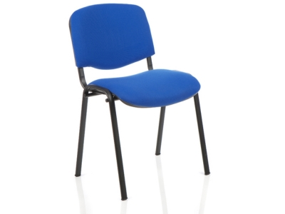 Офисный стул Изо синяя ткань