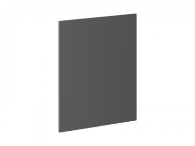 Панель боковая декоративная нижняя ПБд-Н_72 Одри Серый шелк