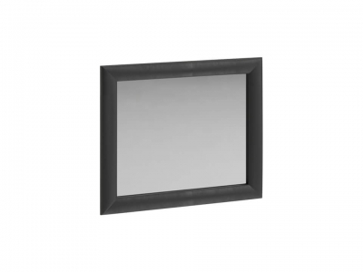 Панель с зеркалом и мягкой обивкой Элис тип 1 Тёмный