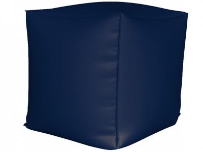 Пуфик Куб мини нейлон темно синий