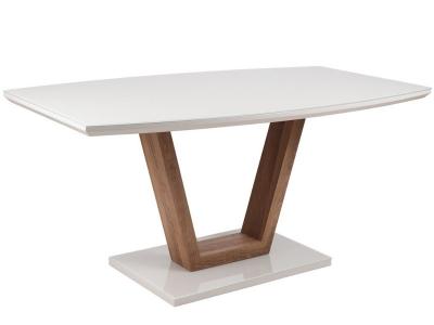 Стол обеденный ОКТ 201 белый