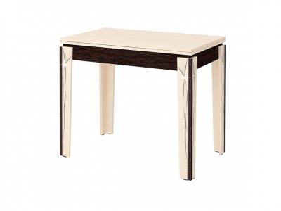 Стол обеденный Орфей-23.10 Дуб Кобург - Венге 900(1200)х600(900)х760