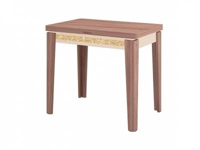 Стол обеденный Орфей-26.10 Лайт Ясень Шимо - Дуб Кобург 870(1260)х630(870)х750