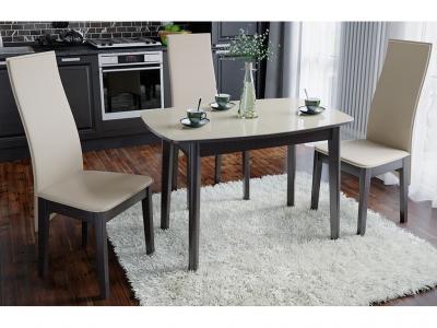 Стол обеденный Портофино СМ(ТД)-105.01.11(2) Венге, стекло
