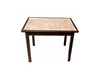 Стол прямоугольный с керамической плиткой 970х670
