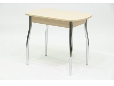 Стол со стеклом Гала 5 дуб песочный