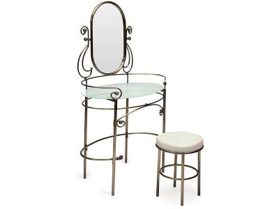 Столик туалетный Albert Античная Медь