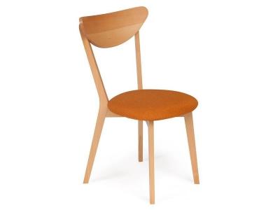 Стул с мягким сиденьем Maxi Оранжевый