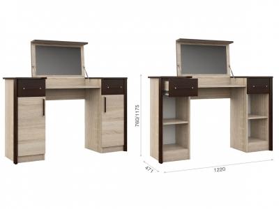 Туалетный столик Эшли Венге/сонома
