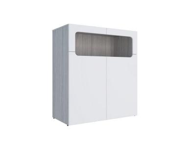 Тумба Палермо-Юниор белый глянец 902х1012х445 мм