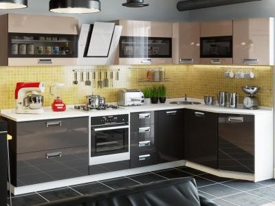 Угловая кухня Бьюти Капучино