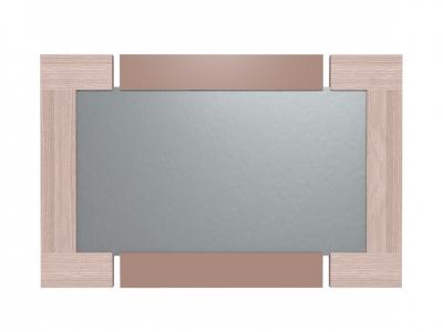Зеркало Берлин Шоколад глянец 3 1006х26х651