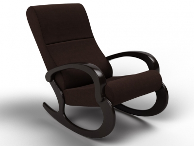 Кресло-качалка Гарда шоколад