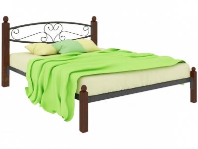 Кровать Каролина Lux чёрная